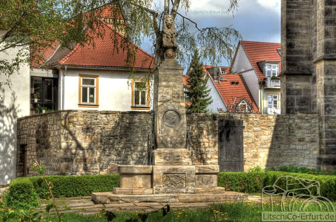 Denkmal, Erfurt Altstadt