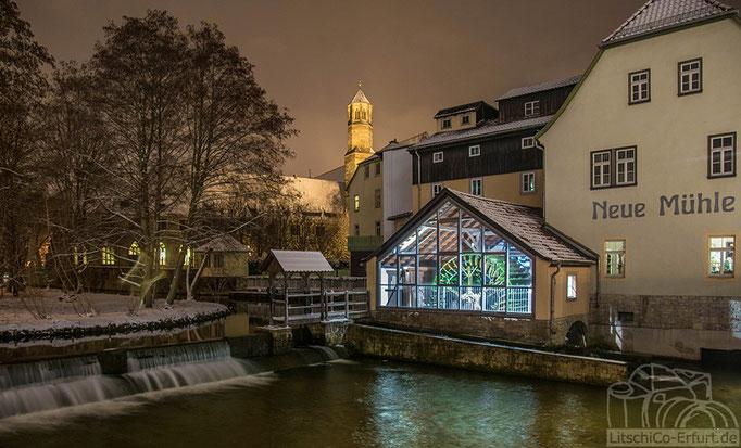 """""""Neue Mühle"""" an der Schlosserbrücke in Erfurt."""