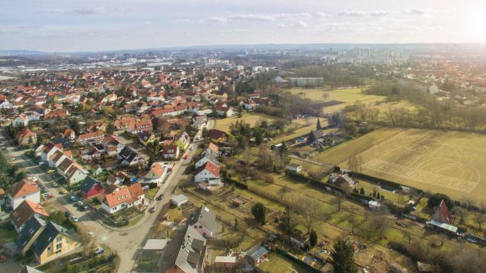 Luftbild: Erfurt - Gispersleben