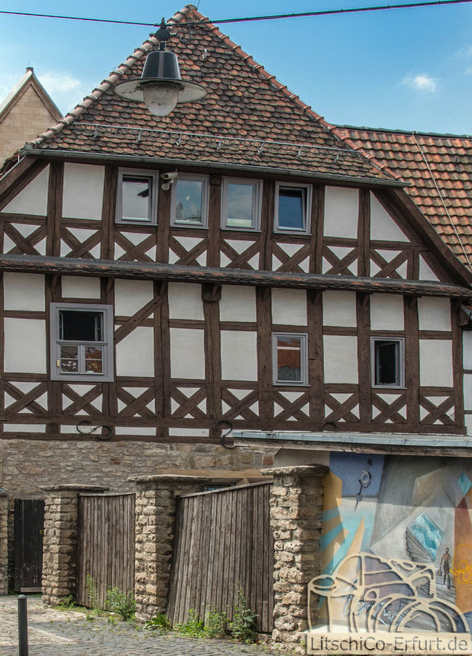 Fachwerkhaus in Erfurt