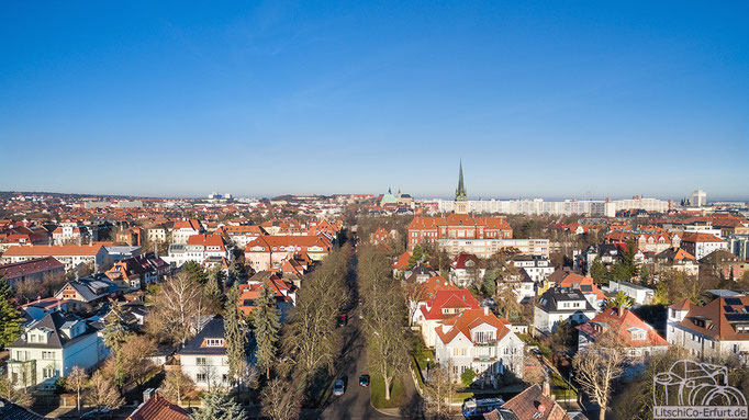 Luftbild: Erfurt Panorama