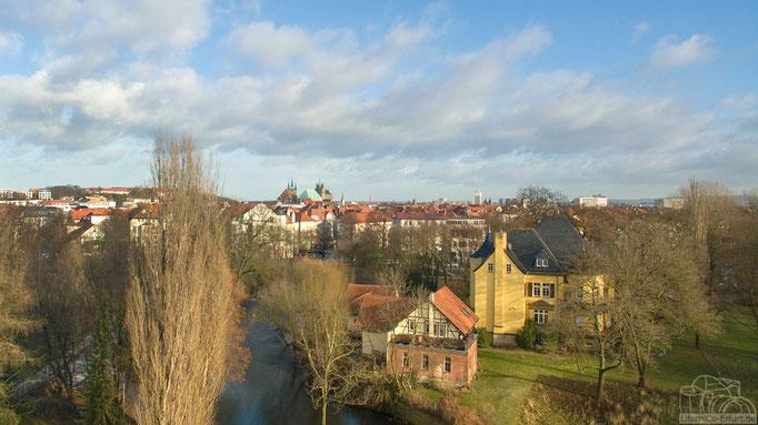 Luftbild: Erfurt, Thüringen