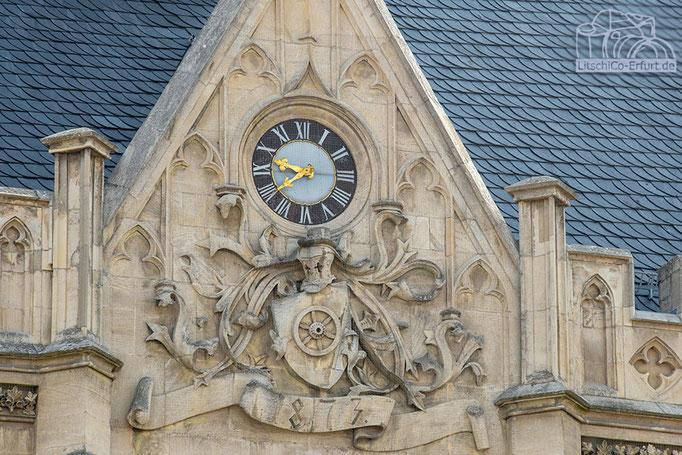 Uhr am Rathaus, Erfurt