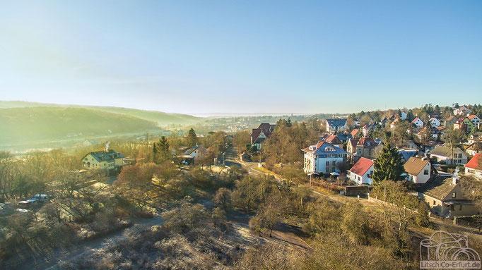 Luftbild: Blick Richtung Erfurt Hochheim