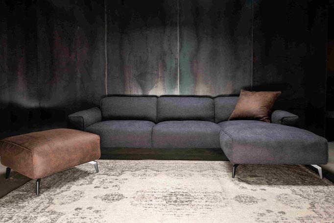 MÖBELLOFT Design Sofa HIMMEL als Einzelsofa, Ecksofa oder Wohnlandschaft - sehr gemütlich und modern für Singles und Familien