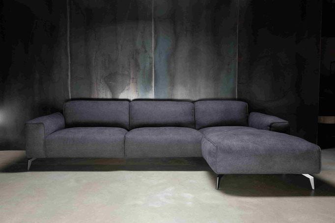 MÖBELLOFT Design Sofa HIMMEL als Einzelsofa, Ecksofa oder Wohnlandschaft - moderner Stoffbezug ideal für Kinder