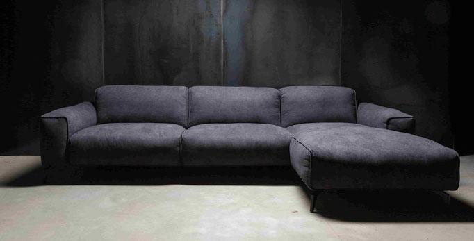 MÖBELLOFT Design Sofa HIMMEL als Einzelsofa, Ecksofa oder Wohnlandschaft - frei zu konfigurieren in verschiedenen Größen und Formen