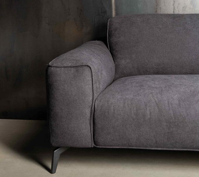 MÖBELLOFT Design Sofa HIMMEL als Einzelsofa, Ecksofa oder Wohnlandschaft - modernes Design zu jeder Einrichtung passend