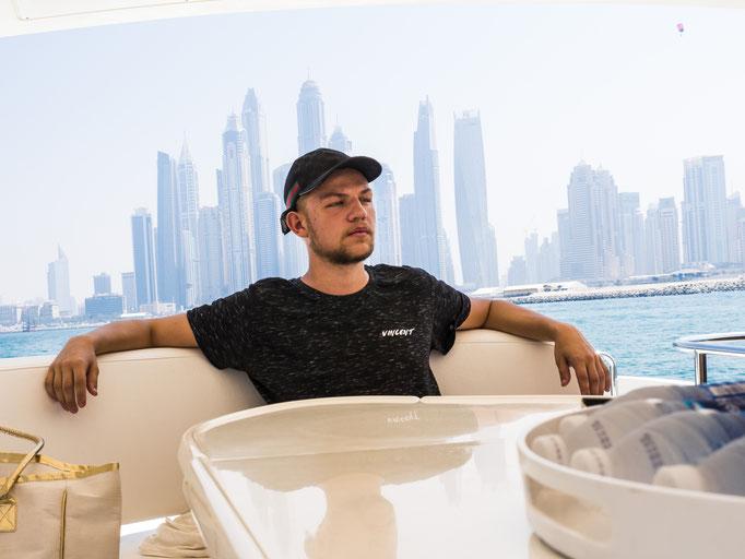Vincent Jakobsmeyer - der Paderborner hatte mit 19 Jahren schon sein eigenes Modelabel - dafür war er in Miami unterwegs