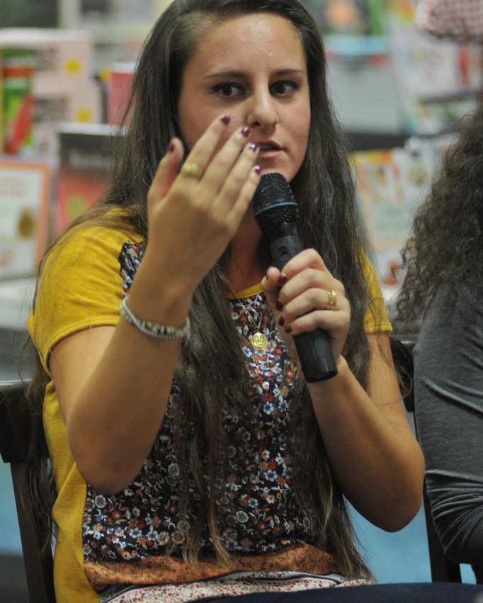 Vanessa Pavía - sie verließ ihre Heimat Andalusien für eine Ausbildung bei der Sparkasse PB-DT