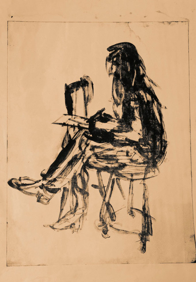 Raven, Offset-Lithografie, 1984