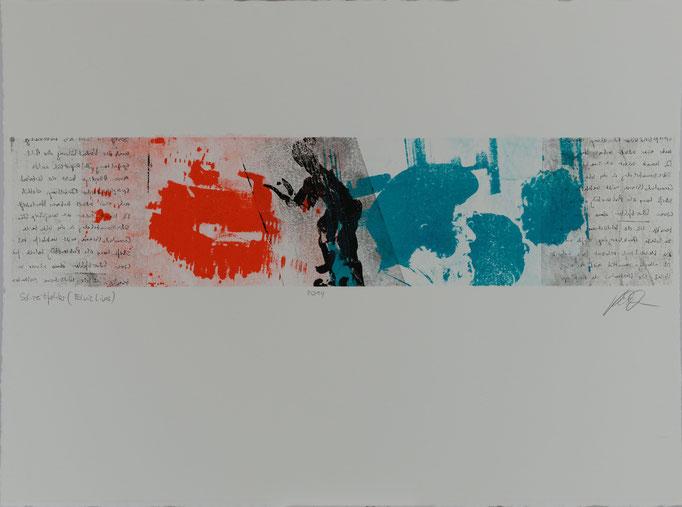 Schreibfehler (Elvis_Lives), Offset-Lithografie, 56x76 cm, 2014