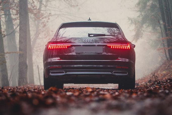 Produktfotografie Audi A6 Avant