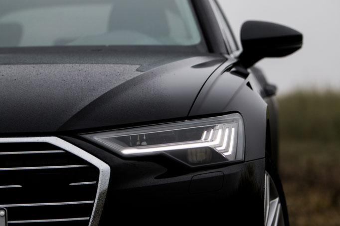 Produktfotografie Audi A6 Avant Detailaufnahme