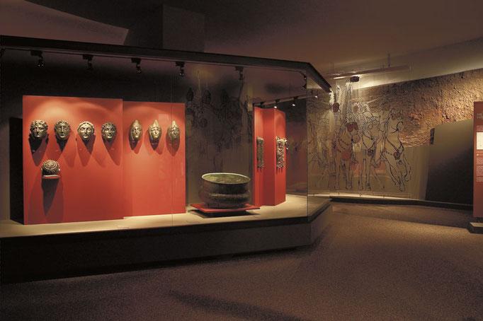 Römerabteilung im Gäubodenmuseum, Foto: Stadt Straubing - Tourismus und Stadtmarketing