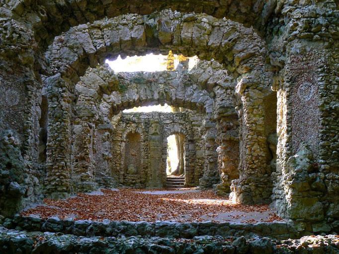 Grottentheater im Felsengarten Sanspareil