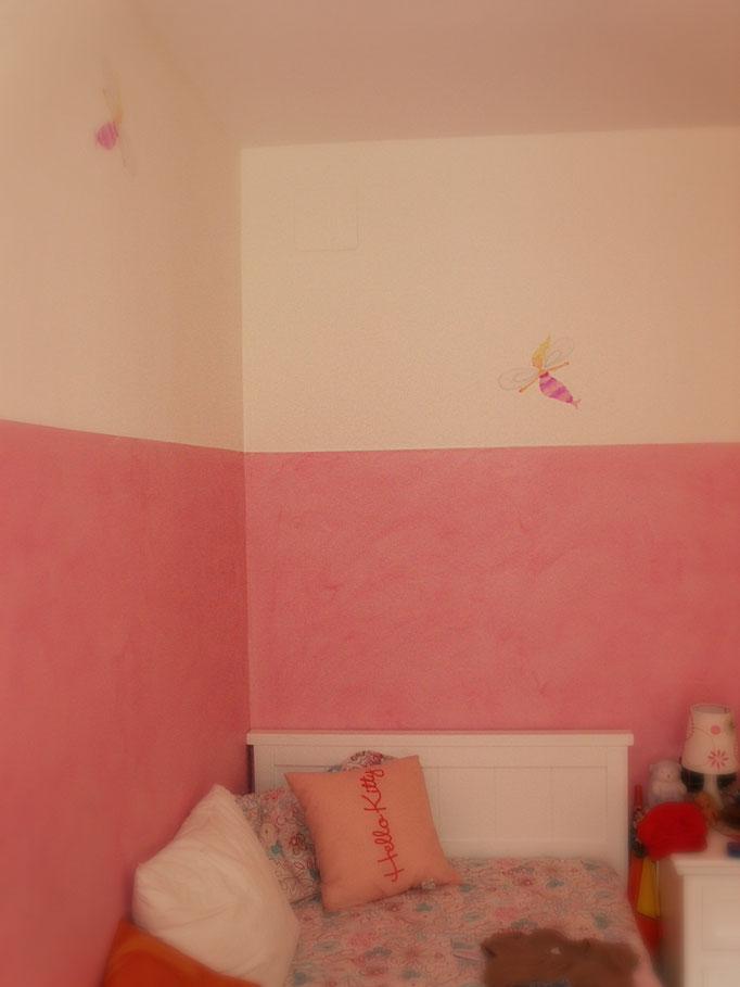 veladura habitación infantil Pintors Barcelona, les corts