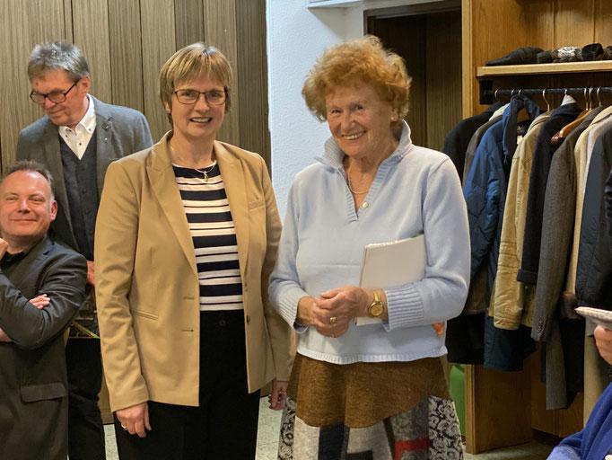 Ehrung für 50 Jahre in der CDU für Gisela Paul