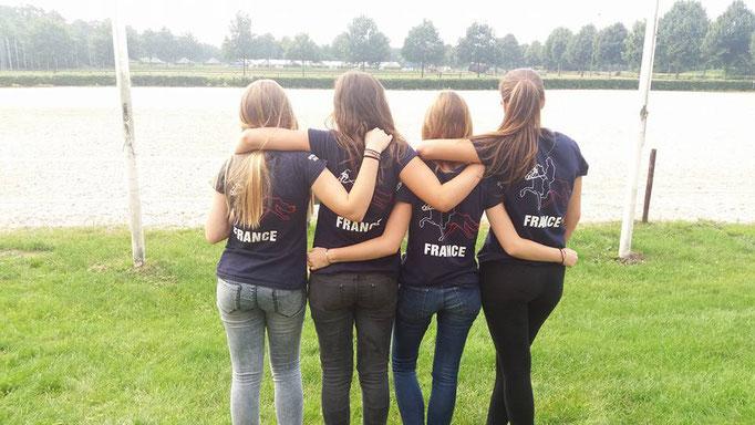 L'équipe. Photo : Agathe de Pas