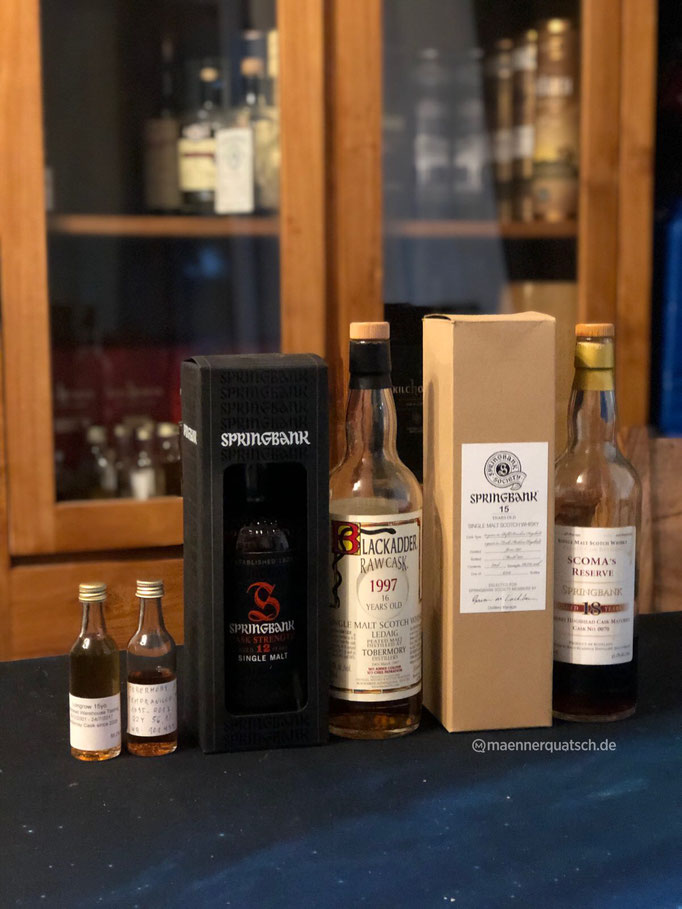 In Sonderfolge #11 des Männerquatsch Podcast, sprechen wir über Whisky aus den Regionen Campbeltown und Islands