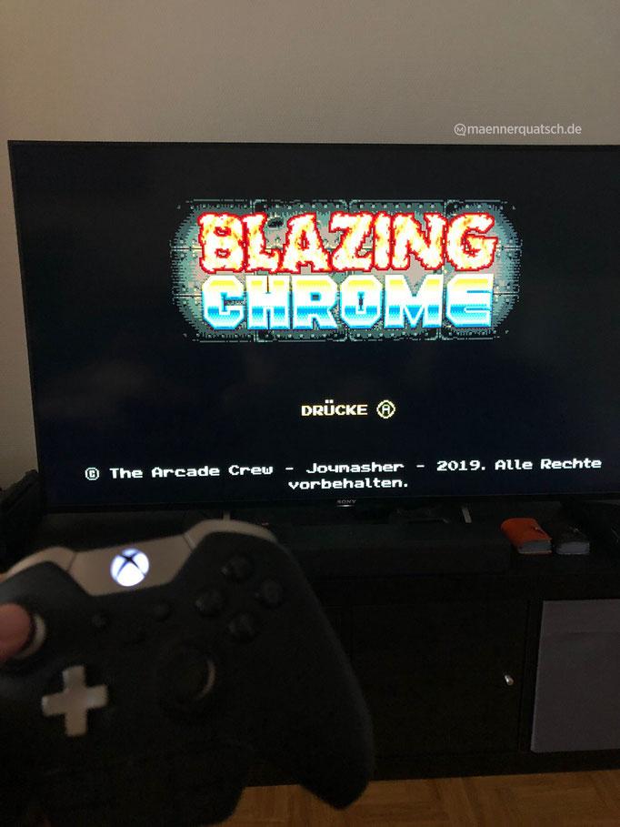 In Folge #54 des Männerquatsch Podcast sprechen wir über Blazing Chrome von The Arcade Crew