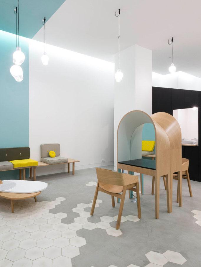 LE COIFFEUR - Design d'espace - 2014