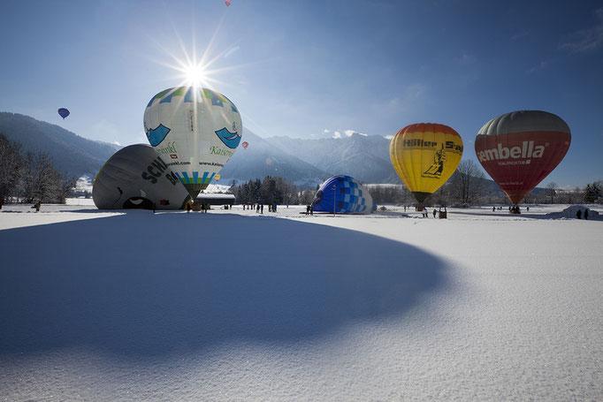Bild: Ballooning Walchsee Winter