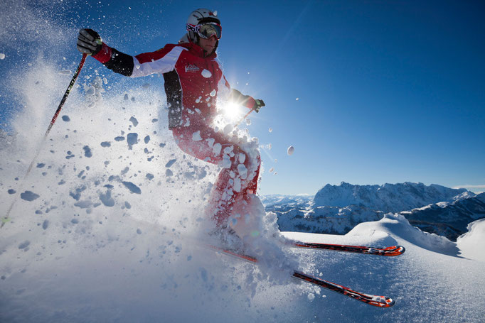 Bild: Skifahren Walchsee