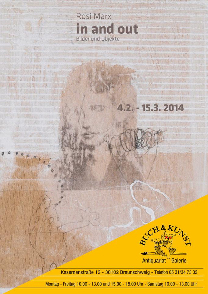 Ausstellungsplakat von Rosi Marx