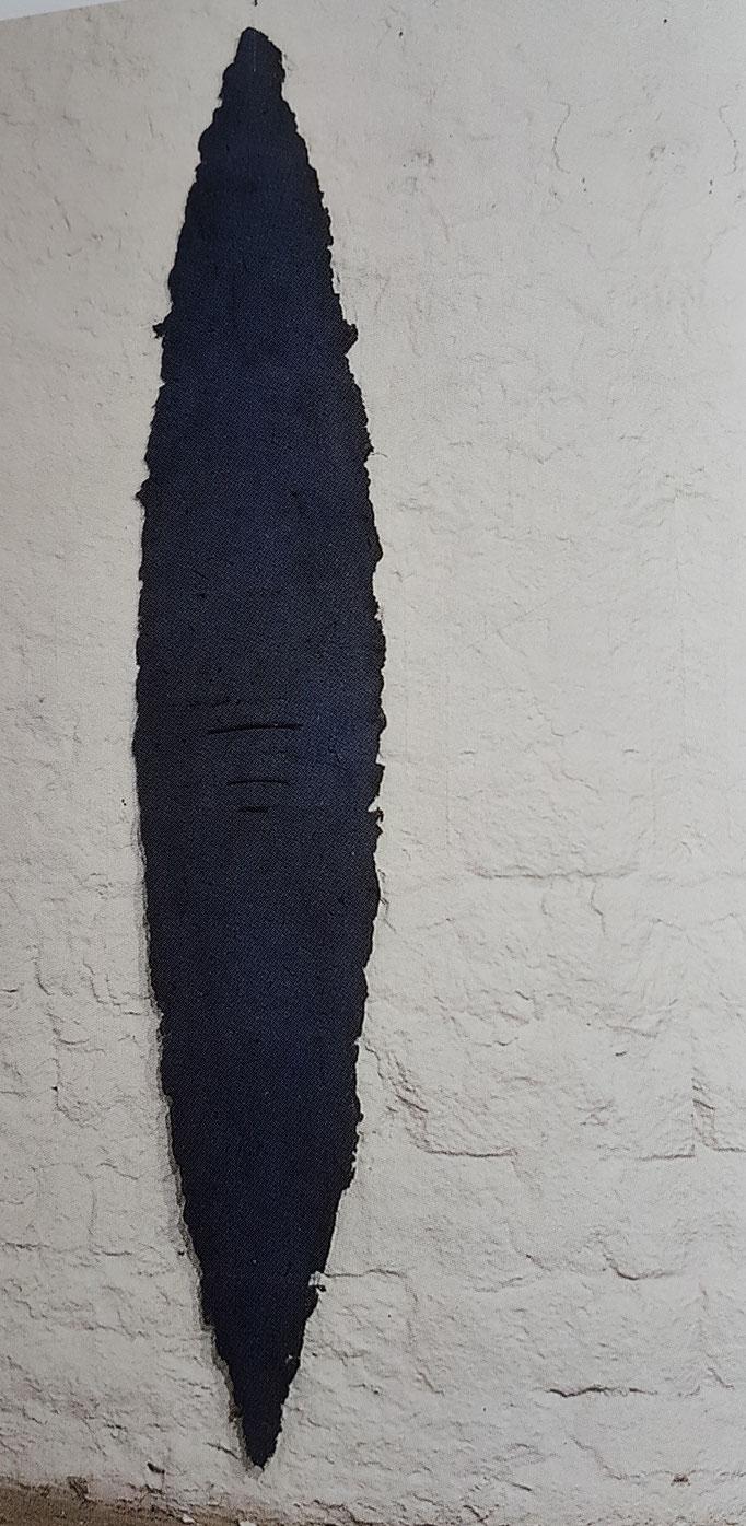"""Schild"" 2000,  170x40 cm"