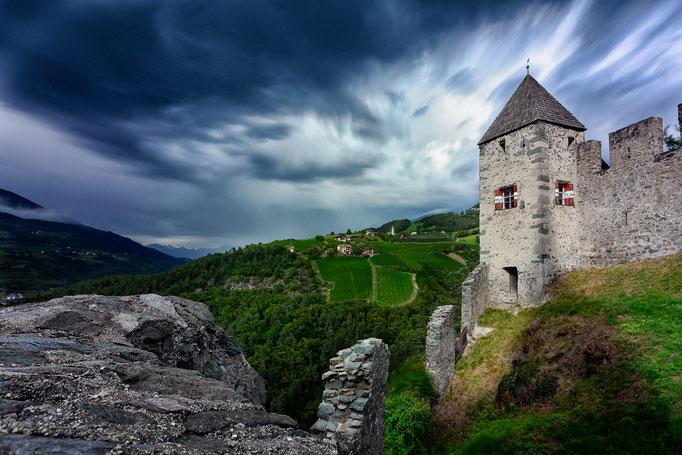Burg in Gufudaun - Historische Architektur Südtirol