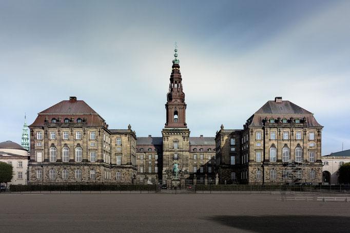 Parlaments Gebäude in Kopenhagen - Historische Architektur