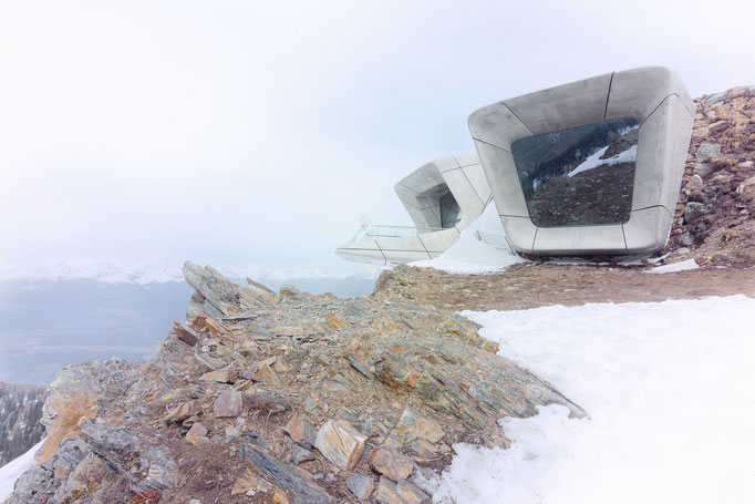 Messner Mountain Museum Kronplatz - Südtirol Architektur - Zaha Hadid