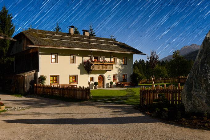 Graf Anger unterm Sternenhimmel - Hotel und Tourismus Fotograf - Architektur