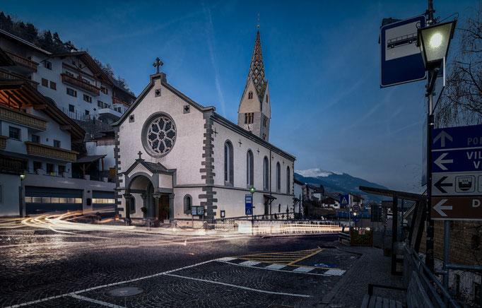 Kirche von Barbian - Südtirol Architektur