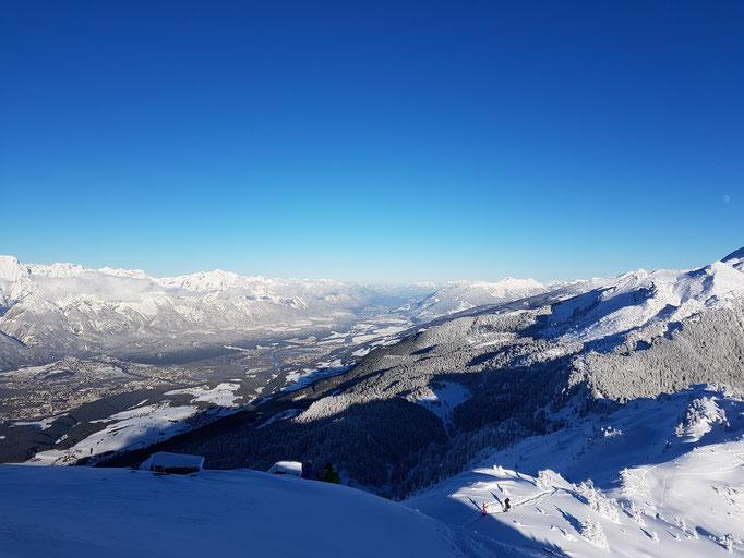 Blick von Boscheben auf Innsbruck
