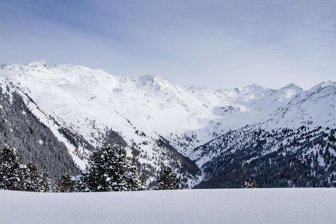 Das Viggartal im Winter