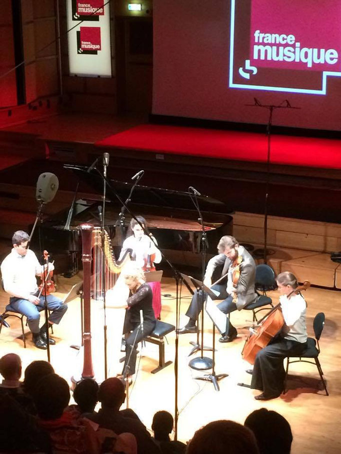 Concert du 3 Octobre 2015 à France Musique pour l'émission Générations Jeunes Interprètes