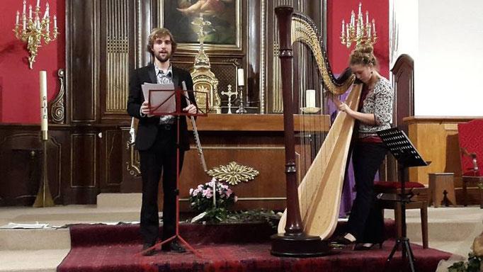 Concert aux côtés de Samuel Bricault à l'église St Pierre St Paul de la Celle Saint-Cloud