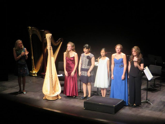 Remise des prix du concours Lily Laskine, 2014