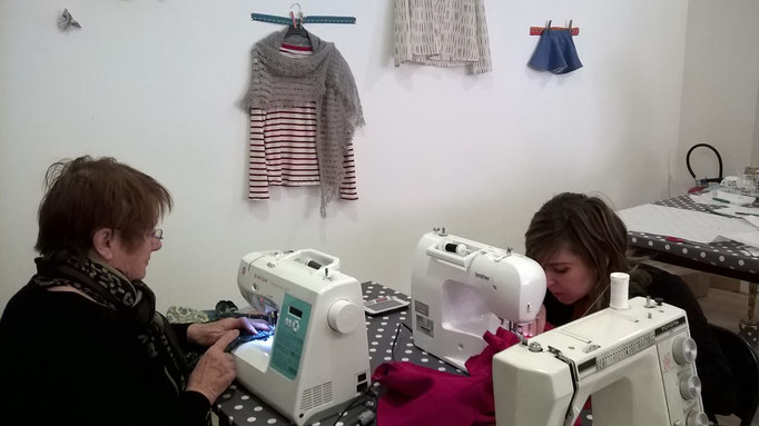 Cours couture voiron