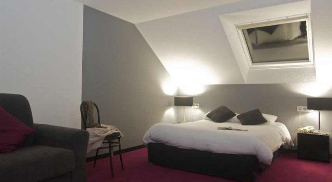 Chambre au Brit Hotel Le Kerotel