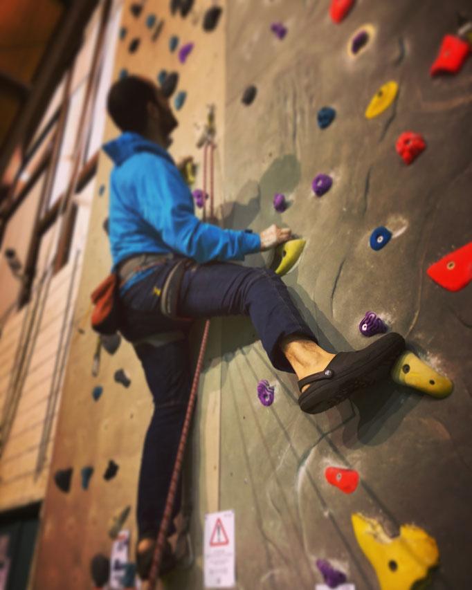progressione d'arrampicata