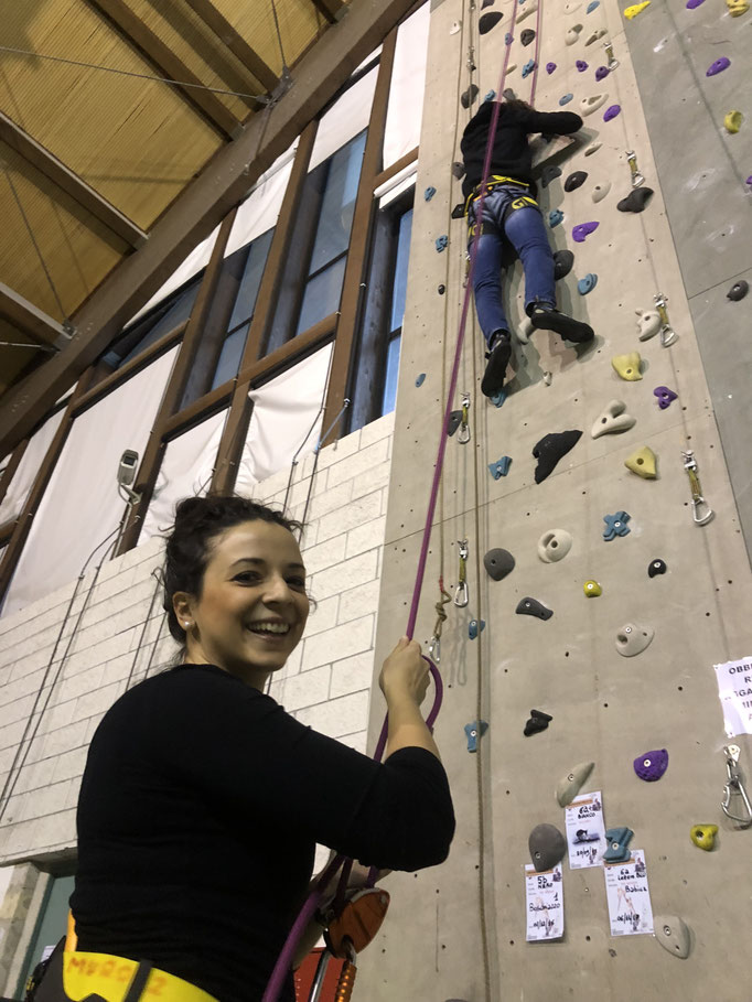 tecniche di sicurezza d'arrampicata