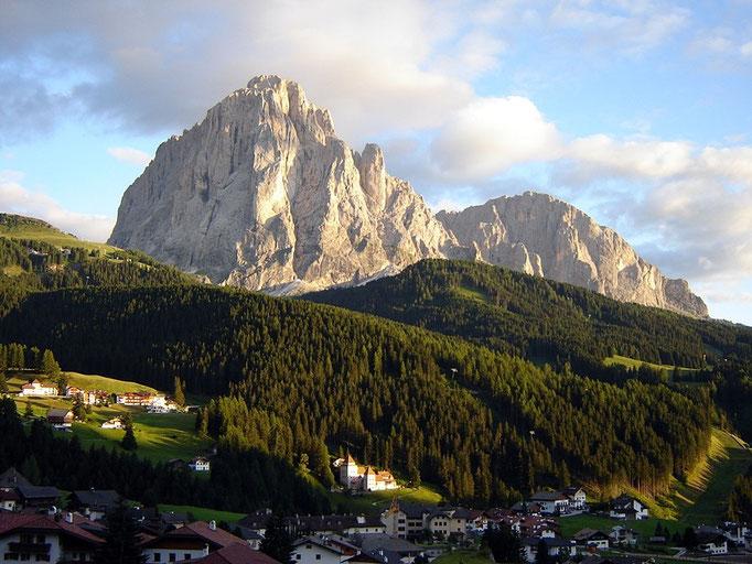 Ein berümter Berg: Der Saslonch oder Langkofel