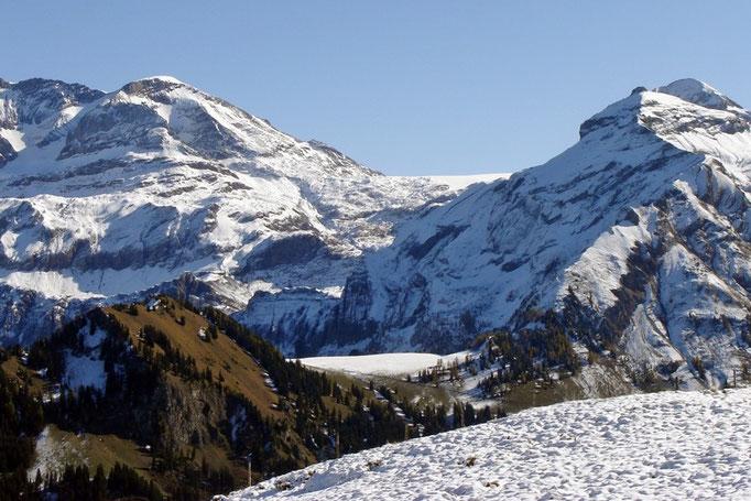 Plaine Morte (Gletscher ir Mitti)