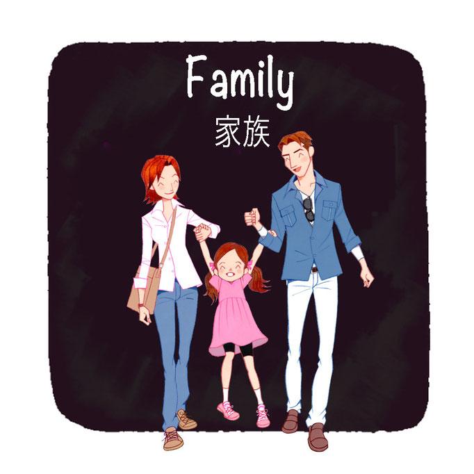 Family  家族