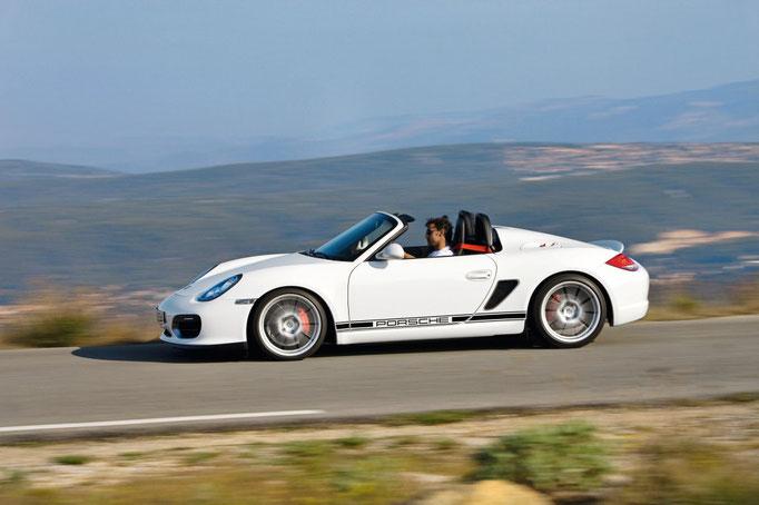 Uwe Mansshardt/ Porsche Boxster Spyder