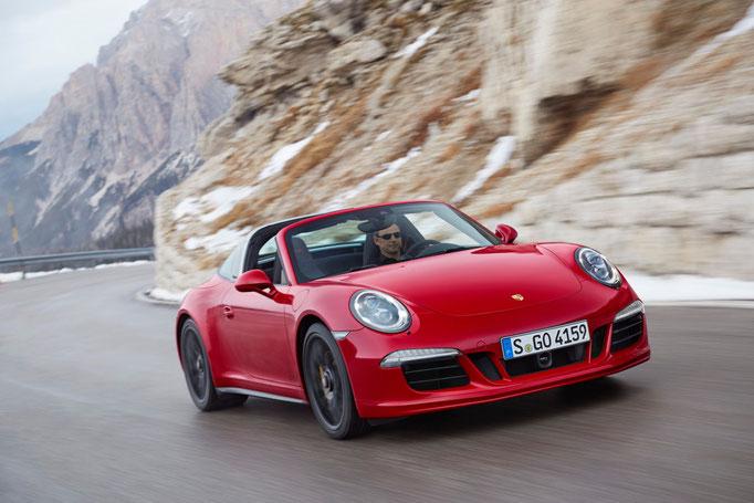 Uwe Mansshardt / Porsche targa GTS