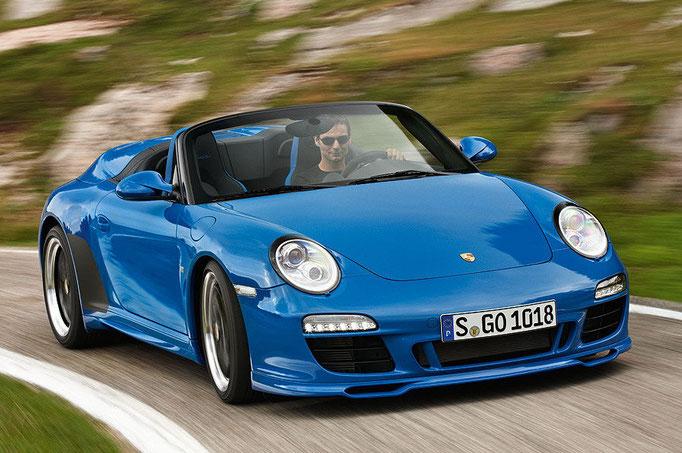Uwe Mansshardt/ Porsche 911 Speedster